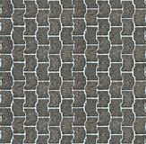 Seamless pavement pattern Royalty Free Stock Photos