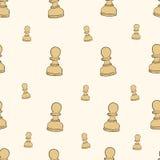 Seamless pawn Royalty Free Stock Image