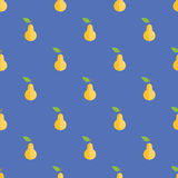 Seamless Pear Pattern Background Royalty Free Stock Photo