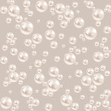 Seamless pearl background. luxury gray pattern Royalty Free Stock Image