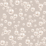 Seamless pearl background. luxury gray pattern. vector Royalty Free Stock Photography