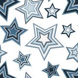 Seamless pentagram pattern Royalty Free Stock Photo