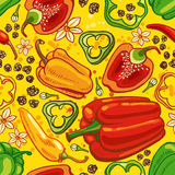 seamless peppar Stock Illustrationer