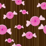 Seamless Peppermint Candy Background. This is a seamless peppermint candy background - vector illustration stock illustration