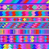 Seamless peruvian texture Royalty Free Stock Photos