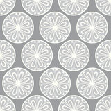 Seamless petal pattern. In shades of grey Royalty Free Stock Photo