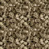 Seamless photo texture of glass beads stock photo