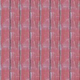 Seamless photo texture of wooden logs with red oil. Abstract seamless pattern for designers with wooden red paint stain plank stock photo
