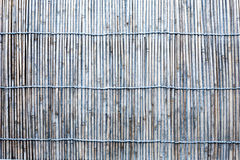 Seamless picture of old worn out bamboo blind Royalty Free Stock Photos