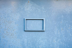Seamless picture of rough painted gray rusty metal board with a Stock Images