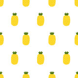 seamless pineapple pattern Royalty Free Stock Photography