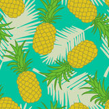 Seamless pineapple pattern Royalty Free Stock Photo