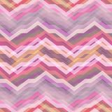 Seamless Pink Abstract Retro Vector Background. Color Abstract Retro Vector Striped Background, Fashion Zigzag Seamless Patterns of Pink Stripes Royalty Free Stock Images