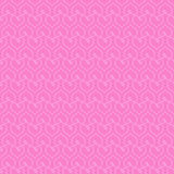 Seamless pink background with white hearts. Royalty Free Stock Photo