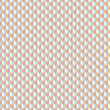 Seamless pink and blue chevron pattern. Vector illustrated retro background. Warping paper texture Royalty Free Stock Photos