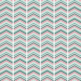 Seamless pink and blue  zig zag pattern.  Royalty Free Stock Images