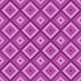 Seamless pink color diamond pattern background. Stock Images