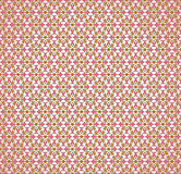 Seamless pink decorative wallpaper Stock Photo