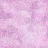 Seamless pink floral pattern Royalty Free Stock Photos