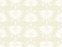 Seamless pink flower pattern Stock Image