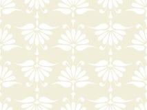 Seamless pink flower pattern Stock Image