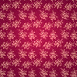 Seamless pink flower pattern Stock Photography