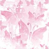 Seamless pink grunge pattern Stock Image