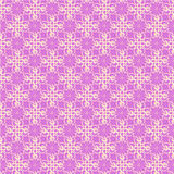 Seamless pink lace ornament wallpaper Stock Image