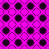 Seamless pink lacy diamonds backgound pattern Stock Image