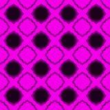 Seamless pink lacy diamonds backgound pattern Stock Image