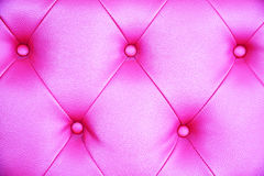 Seamless pink leather texture background. Stock Photos