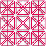 Seamless pink net  background Royalty Free Stock Photography
