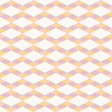 Seamless abstract pink and orange line zigzag pattern texture element.  Royalty Free Stock Photos