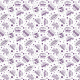 Seamless Pink Pattern Royalty Free Stock Photography