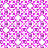 Seamless pink Pattern on white Background Royalty Free Stock Photography