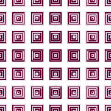 Seamless Pink, Red Abstract Modern Pattern Stock Image