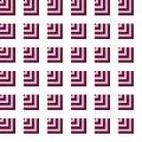 Seamless Pink, Red Abstract Modern Pattern Royalty Free Stock Photo