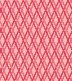 Seamless pink and red lines pattern, vector texture. Seamless pink and red vector checked texture Stock Image