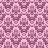 Seamless pink retro Wallpaper for design Royalty Free Stock Photography