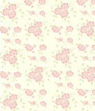 Seamless pink rose pattern Royalty Free Stock Images