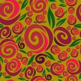 Seamless pink rose pattern Stock Photo