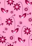 Seamless pink wallpaper Royalty Free Stock Photo
