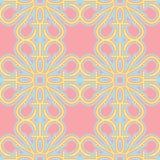 Seamless Pink Wallpaper Royalty Free Stock Photos
