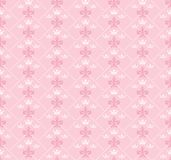 Seamless pink wallpaper for the interiors Royalty Free Stock Photos