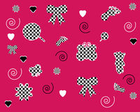Seamless pink wallpapers patterns   Stock Photos