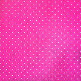 Seamless pink and white polka fabric Royalty Free Stock Images