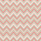 Seamless pink zig zag pattern. Vector retro background. Warping paper texture Stock Photo