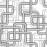 Seamless pipe pattern Royalty Free Stock Images