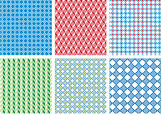 Seamless pixel pattern Royalty Free Stock Images