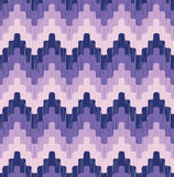 Seamless  pixelated chevron background Stock Photography